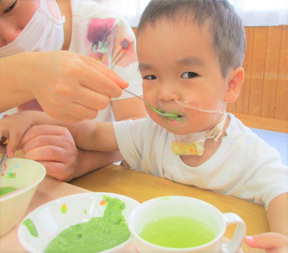 親子教室給食写真